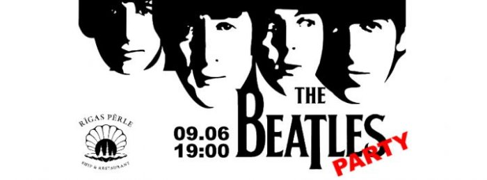 Корабль 'Rigas Perle'. The Beatles Party